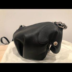 loewe leather Elephant crossbody bag